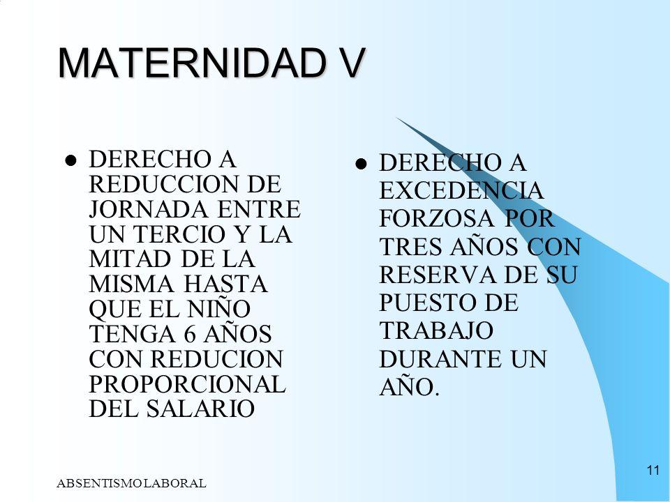 MATERNIDAD V