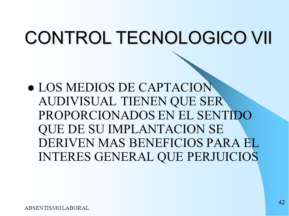 CONTROL TECNOLOGICO VII