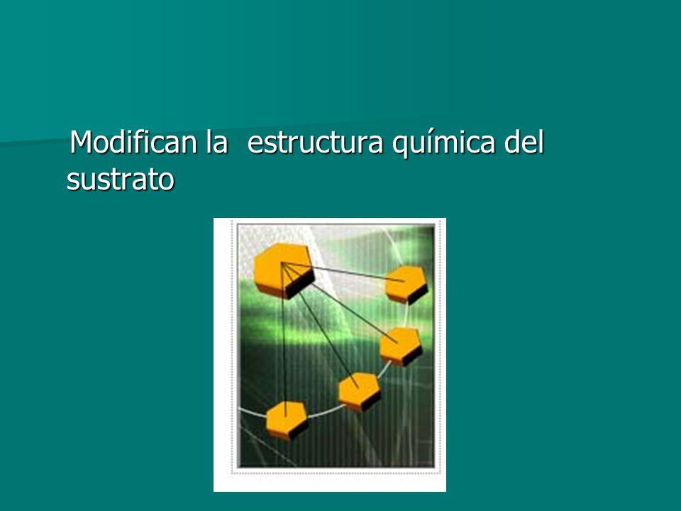Modifican la estructura química del sustrato
