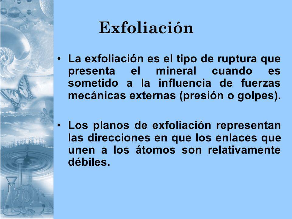 Exfoliación
