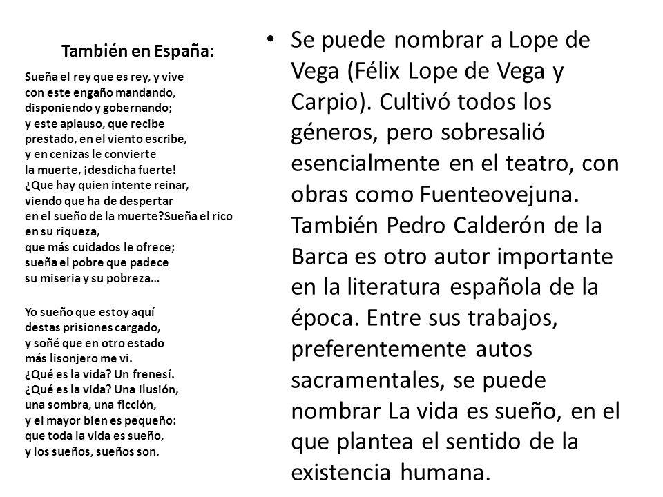 También en España: