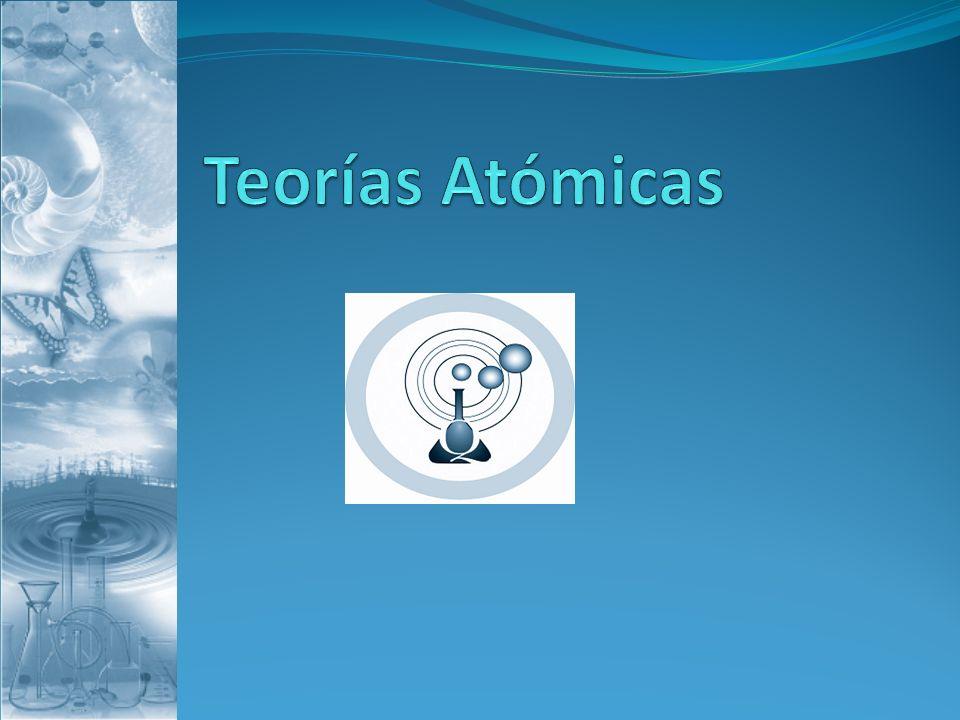 Teorías Atómicas