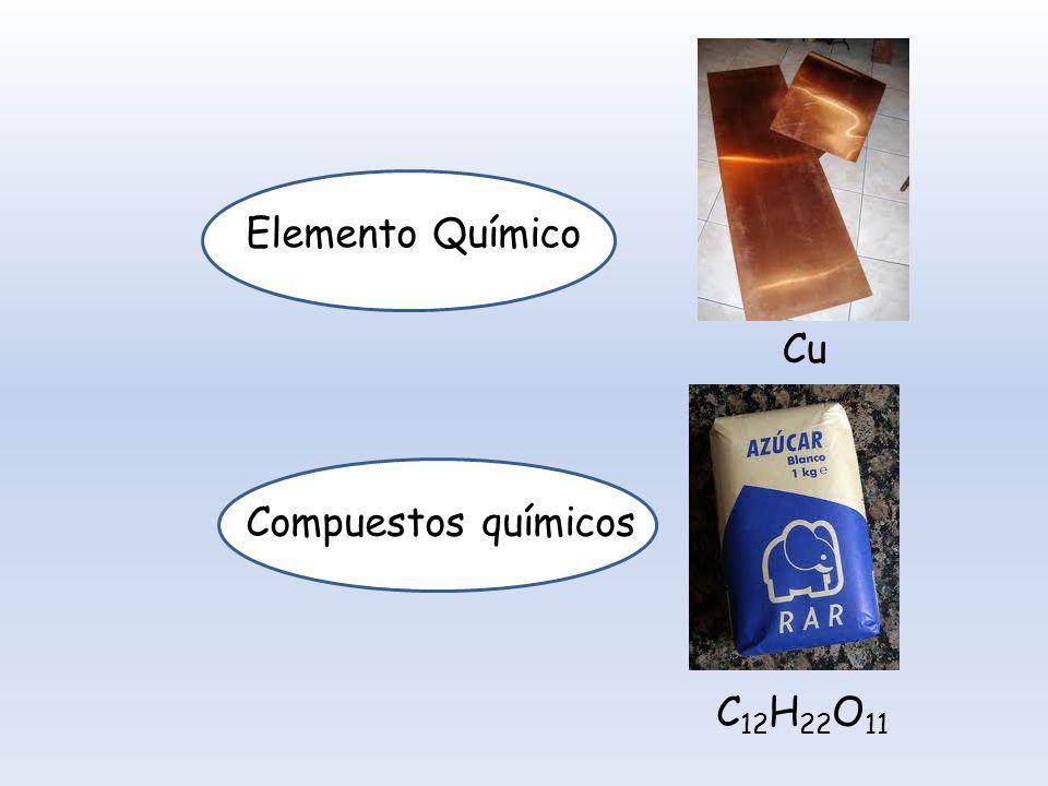 Elemento Químico Cu c Compuestos químicos C12H22O11