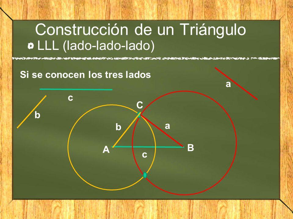 Construcción de un Triángulo