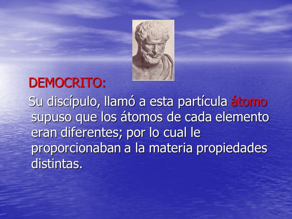 DEMOCRITO: