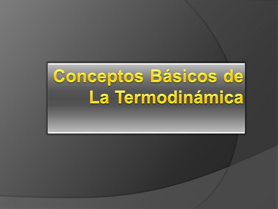 Conceptos Básicos de La Termodinámica