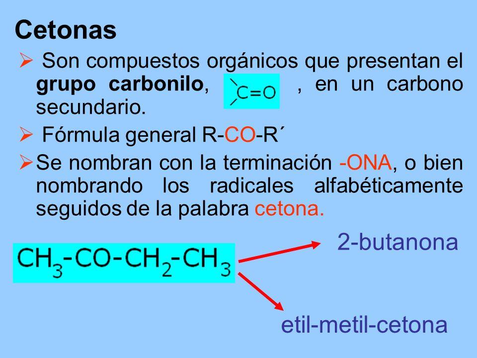 Cetonas 2-butanona etil-metil-cetona