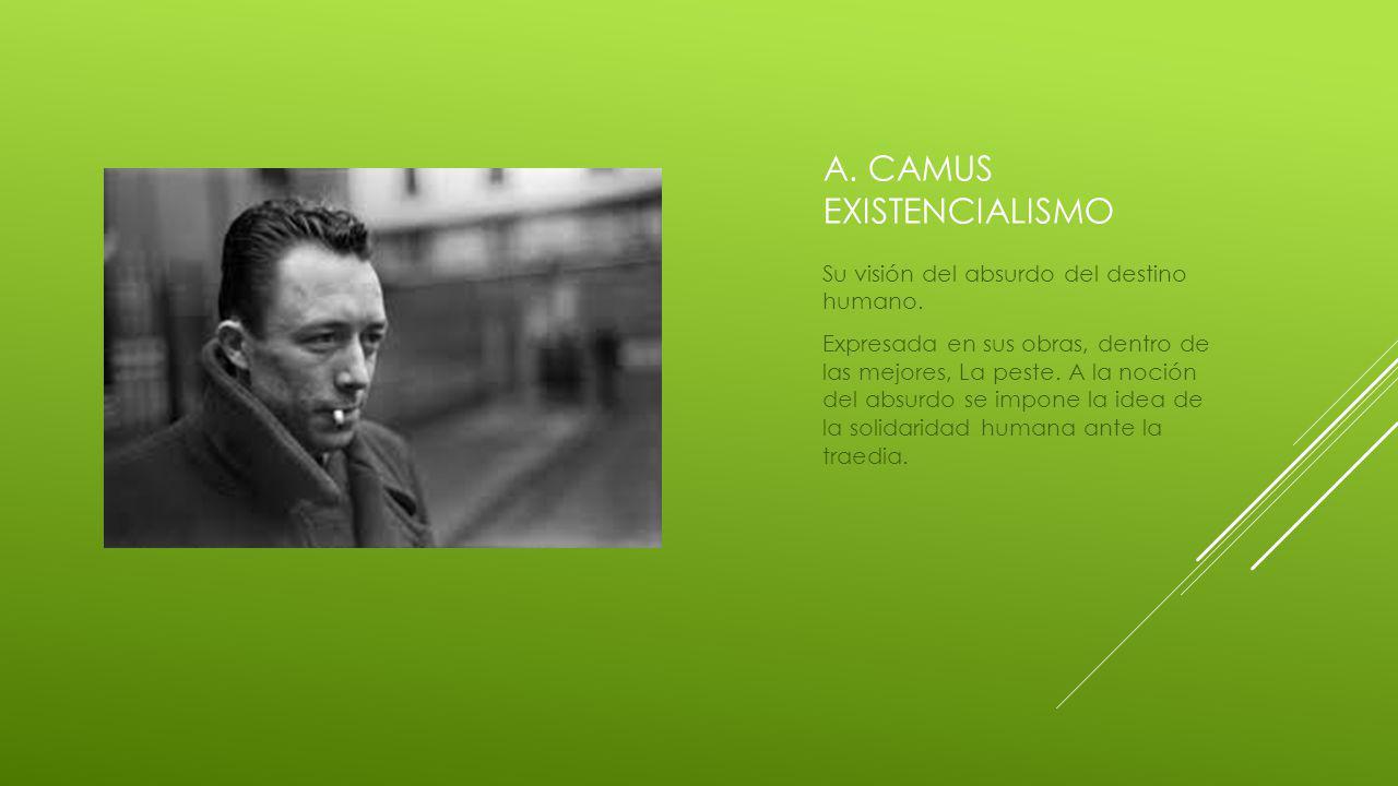 a. Camus existencialismo