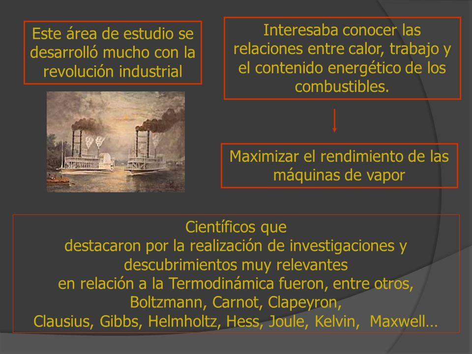 Este área de estudio se desarrolló mucho con la revolución industrial