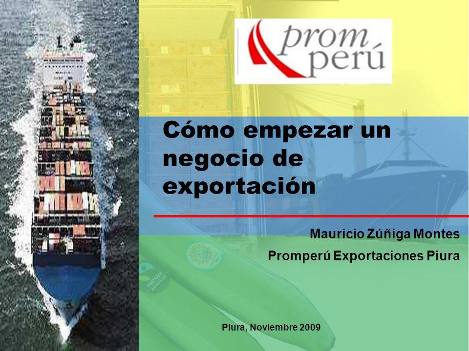 Cómo empezar un negocio de exportación