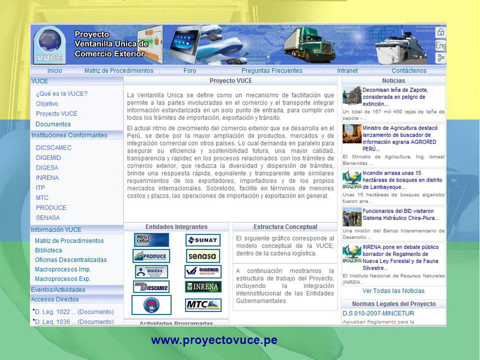 www.proyectovuce.pe
