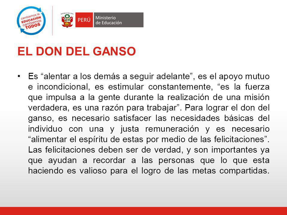 EL DON DEL GANSO