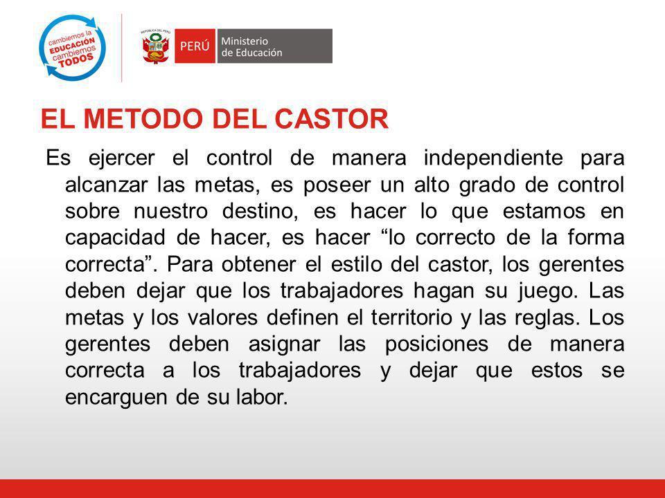 EL METODO DEL CASTOR