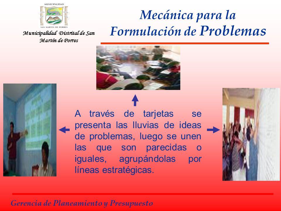 Mecánica para la Formulación de Problemas