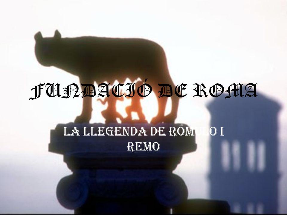 La llegenda de RÓMULO i REMO
