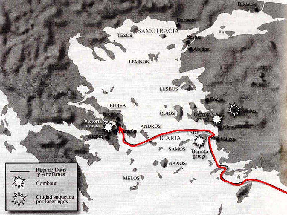 PRIMERA GUERRA MÉDICA (490 a.C.)