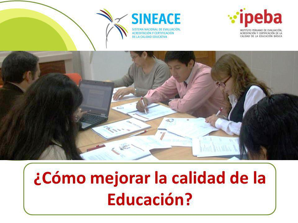 ¿Cómo mejorar la calidad de la Educación
