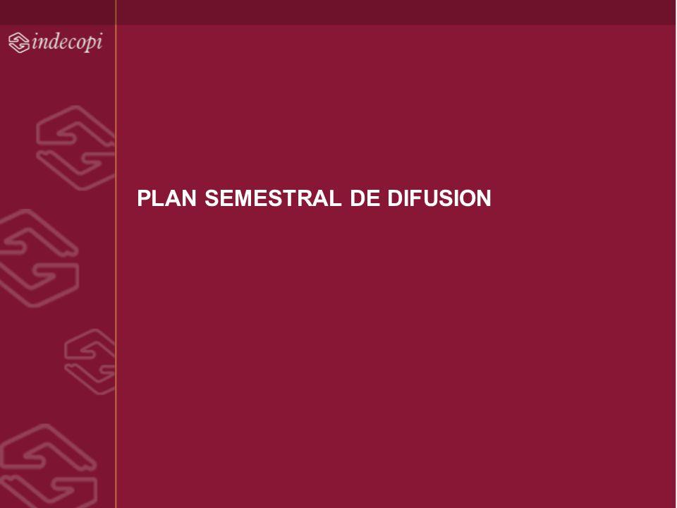 PLAN SEMESTRAL DE DIFUSION