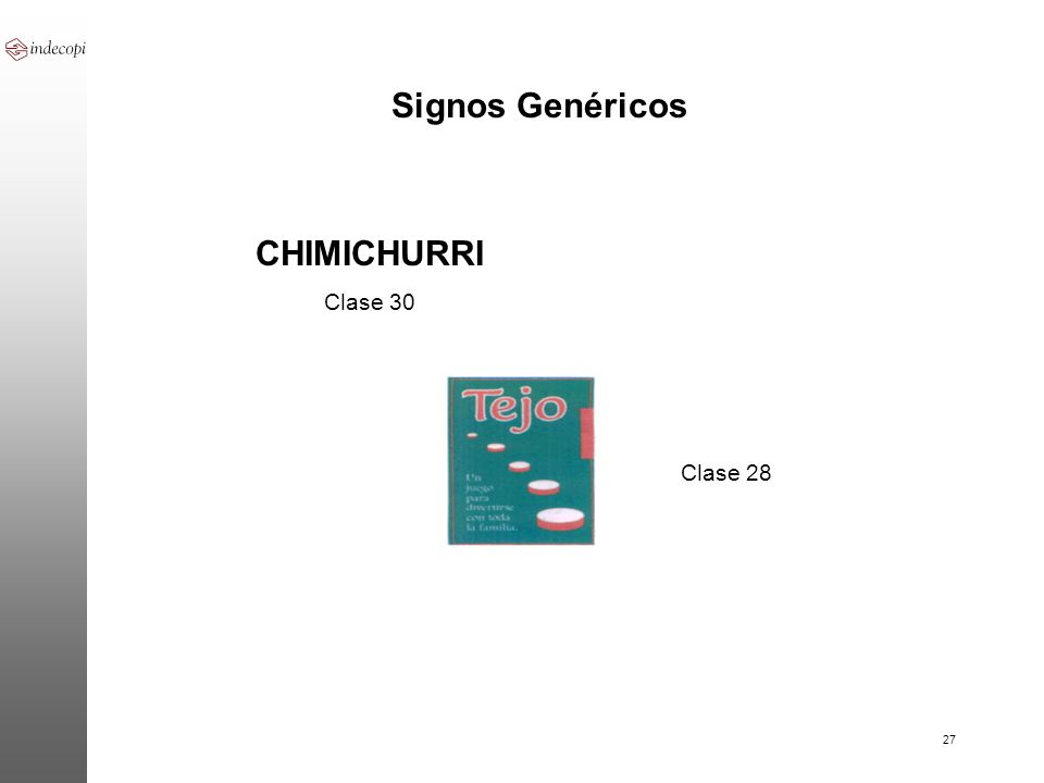 Signos Genéricos CHIMICHURRI