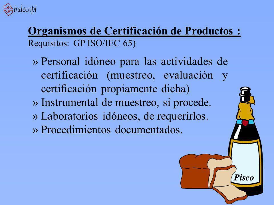Organismos de Certificación de Productos :