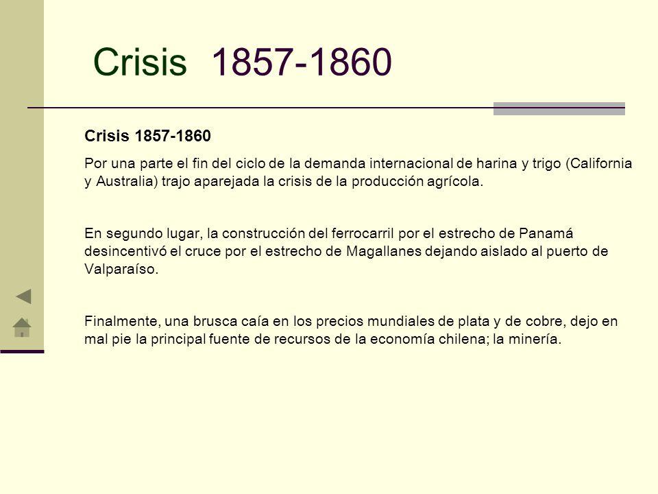 Crisis 1857-1860 Crisis 1857-1860.