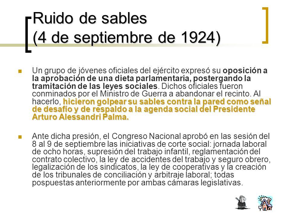 Ruido de sables (4 de septiembre de 1924)