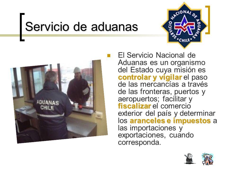 Servicio de aduanas