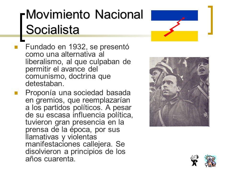 Movimiento Nacional Socialista