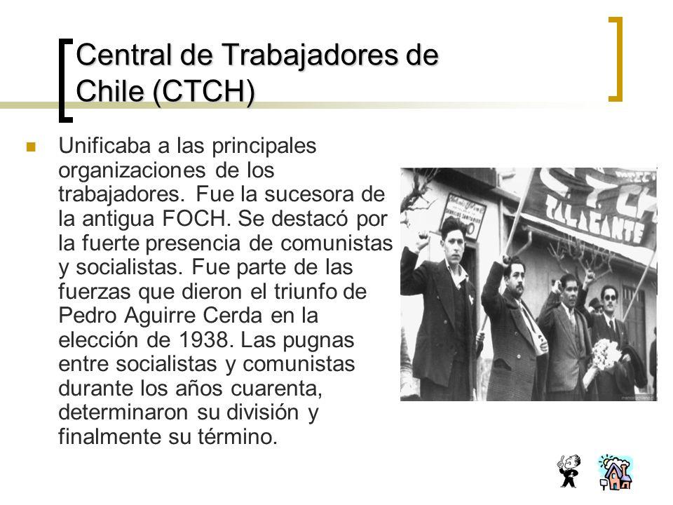 Central de Trabajadores de Chile (CTCH)