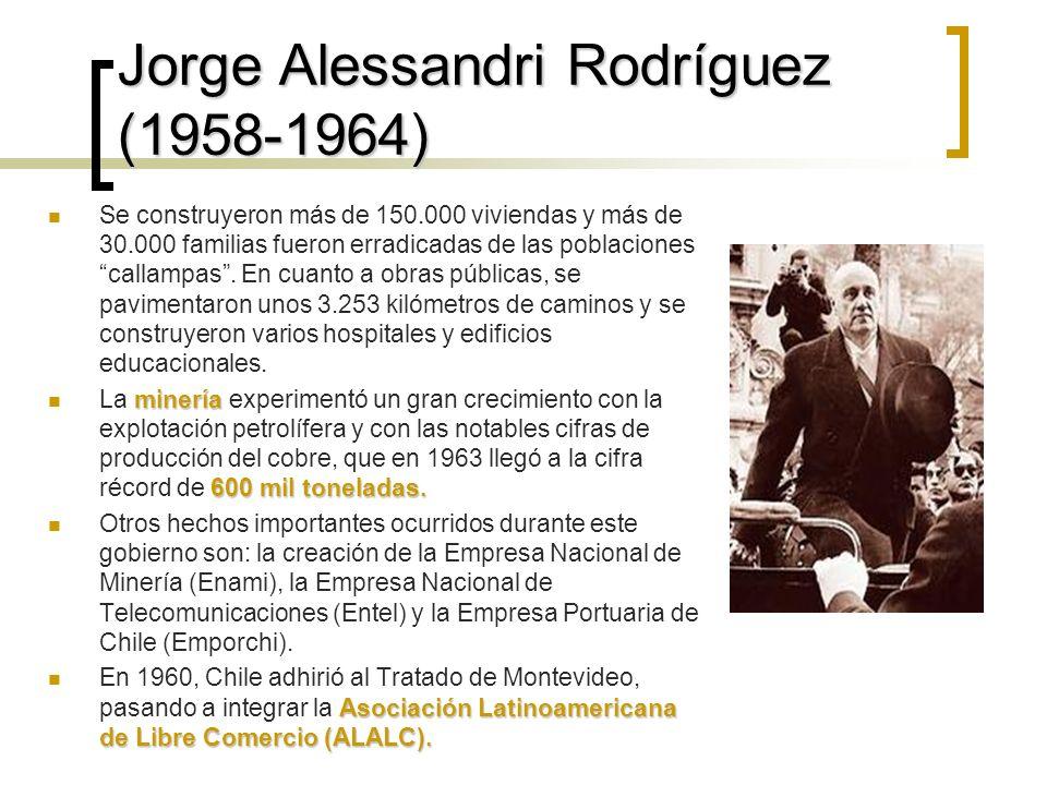 Jorge Alessandri Rodríguez (1958-1964)