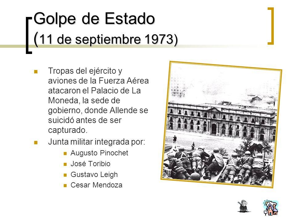 Golpe de Estado (11 de septiembre 1973)