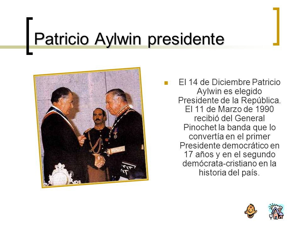 Patricio Aylwin presidente