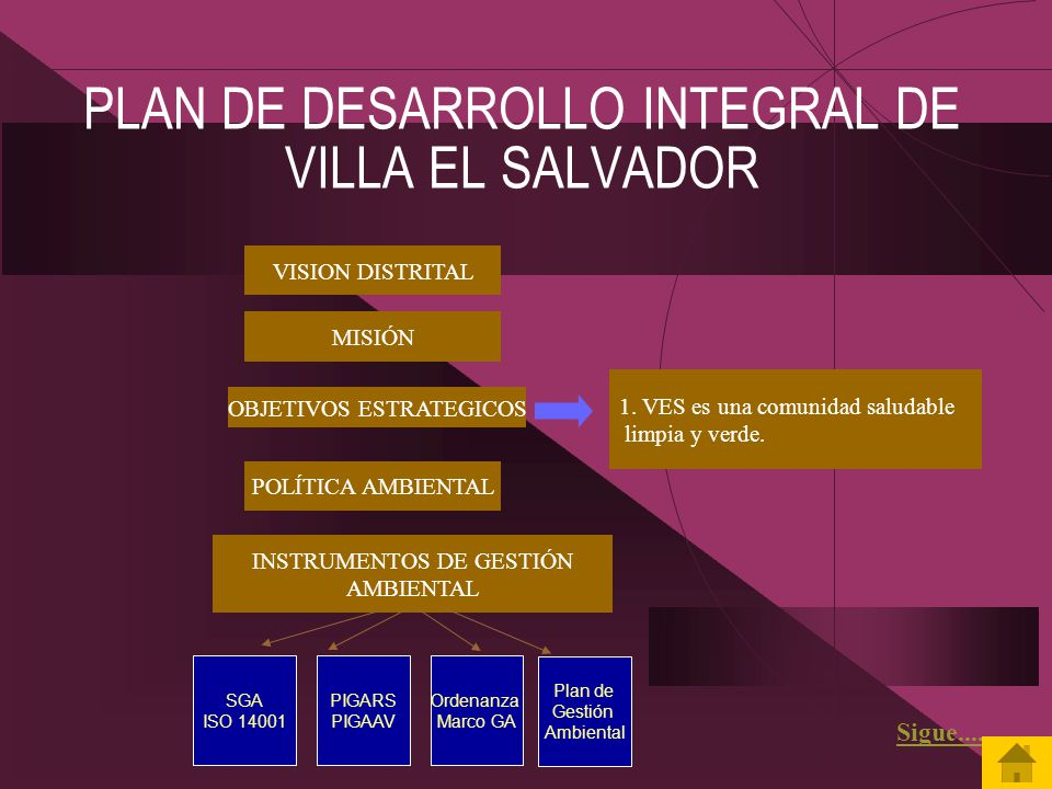 PLAN DE DESARROLLO INTEGRAL DE VILLA EL SALVADOR