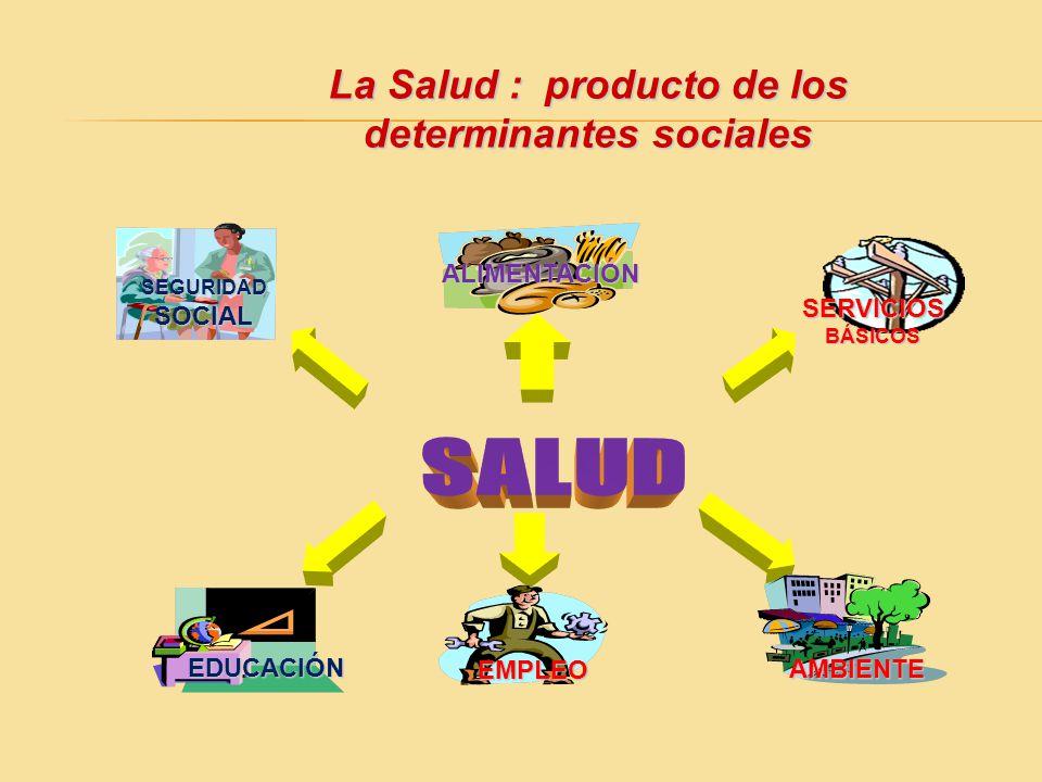La Salud : producto de los determinantes sociales