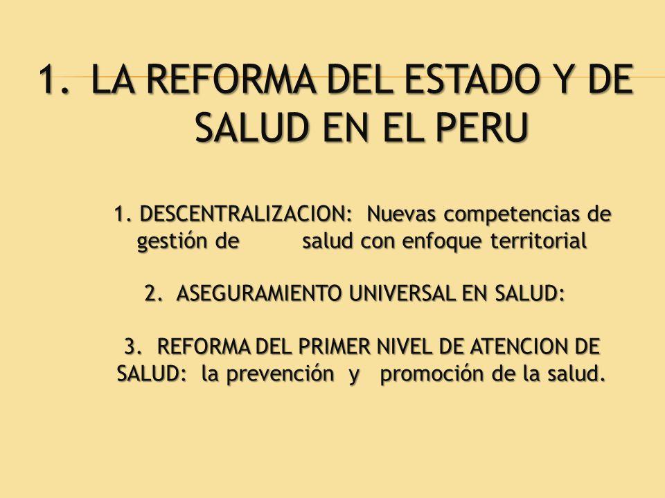 2. ASEGURAMIENTO UNIVERSAL EN SALUD: