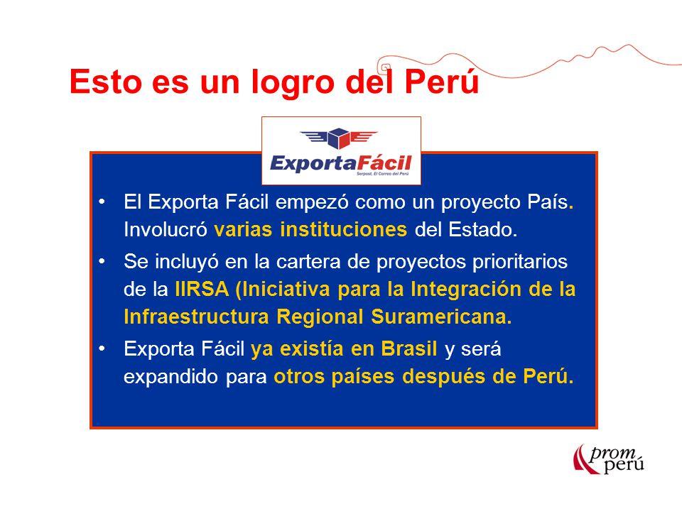 Esto es un logro del Perú