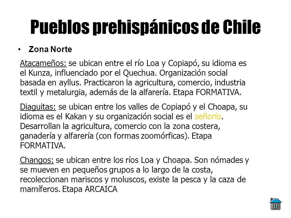 Pueblos prehispánicos de Chile