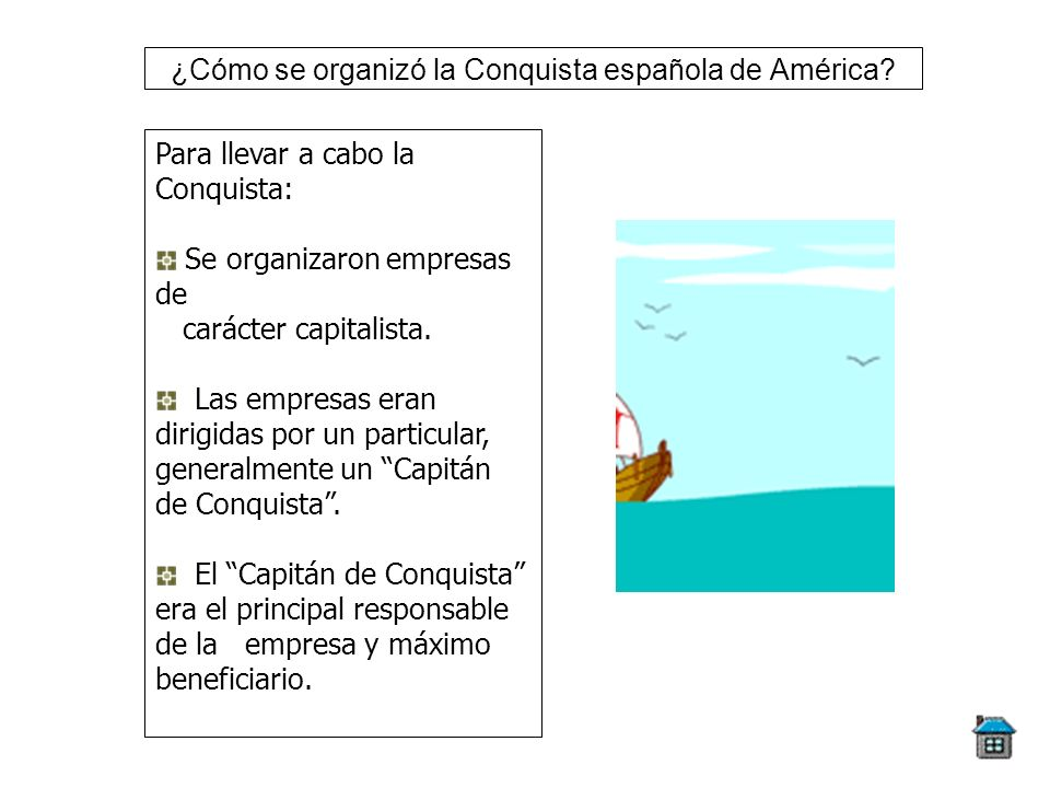 ¿Cómo se organizó la Conquista española de América