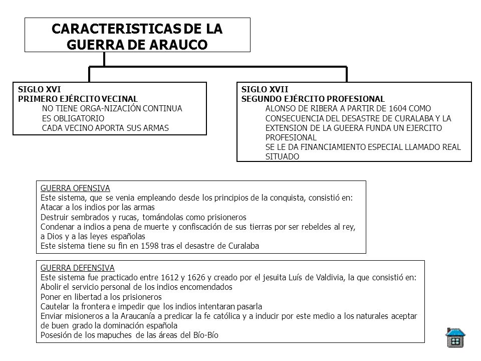 CARACTERISTICAS DE LA GUERRA DE ARAUCO