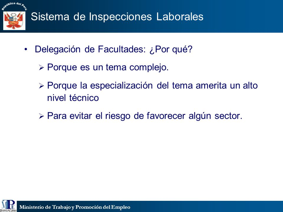 Sistema de Inspecciones Laborales