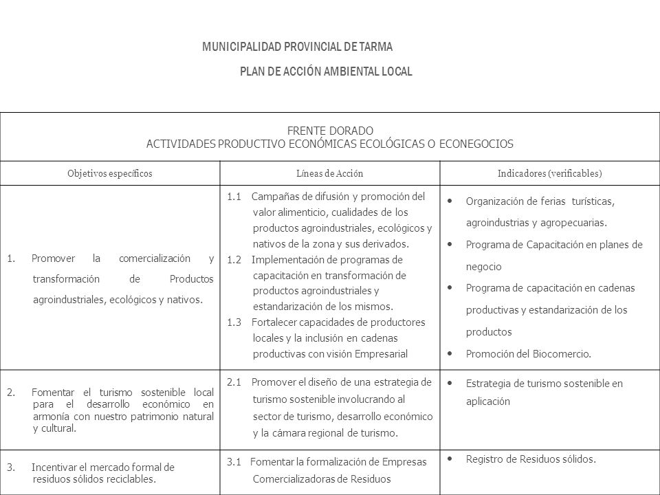 Primera audiencia p blica ppt descargar for Municipalidad de tarma