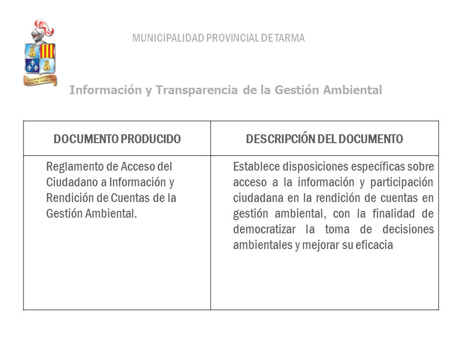 DESCRIPCIÓN DEL DOCUMENTO