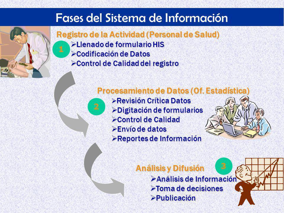 Fases del Sistema de Información