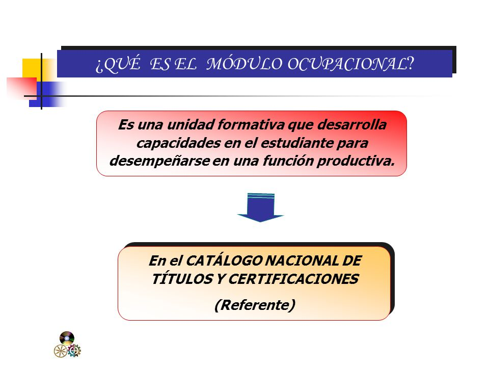 En el CATÁLOGO NACIONAL DE TÍTULOS Y CERTIFICACIONES