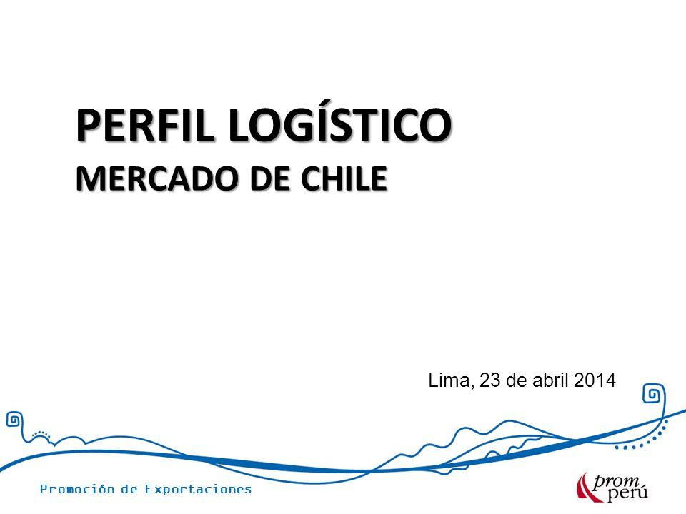 PERFIL LOGÍSTICO MERCADO DE CHILE Lima, 23 de abril 2014