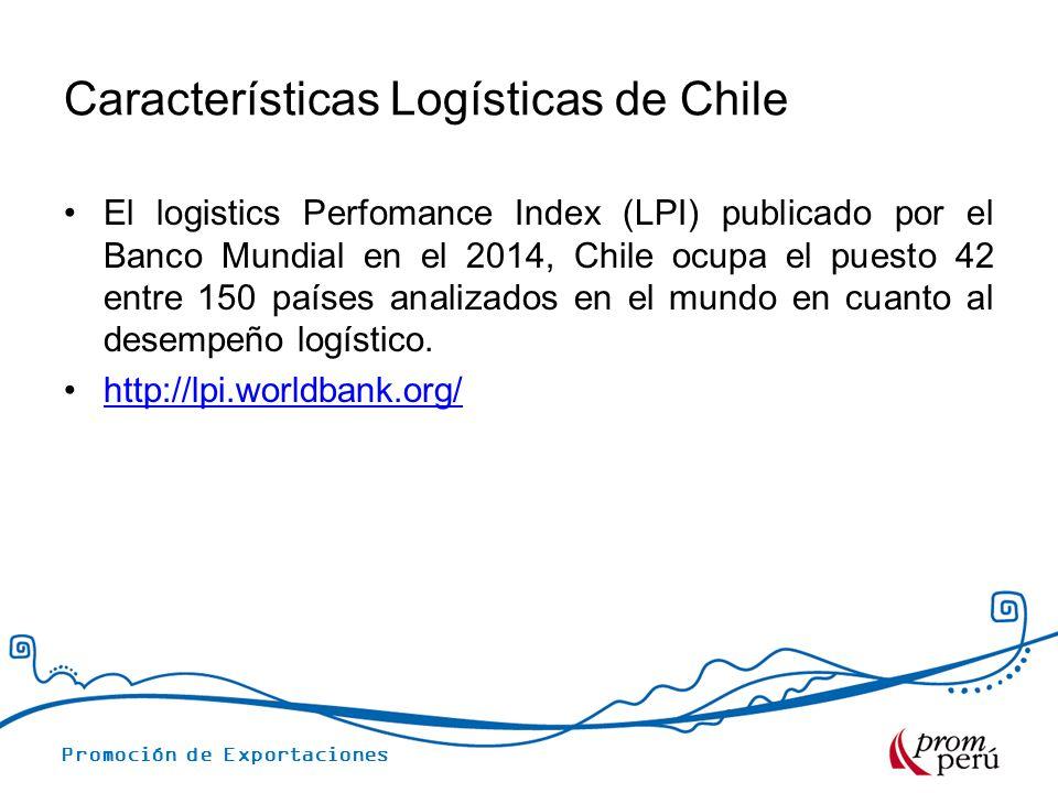 Características Logísticas de Chile