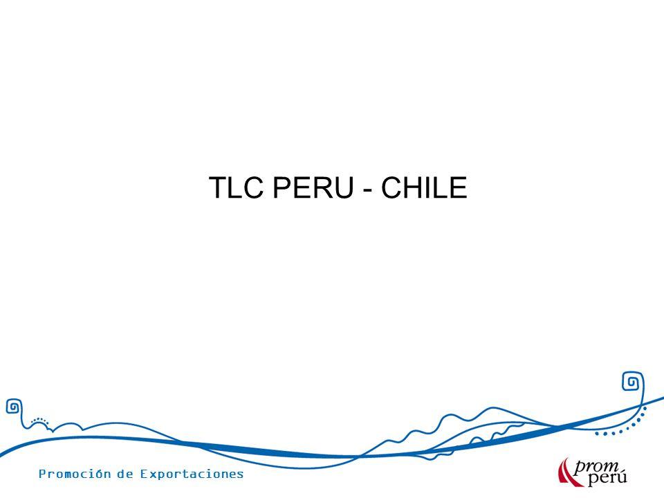TLC PERU - CHILE