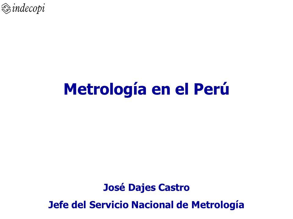 Jefe del Servicio Nacional de Metrología