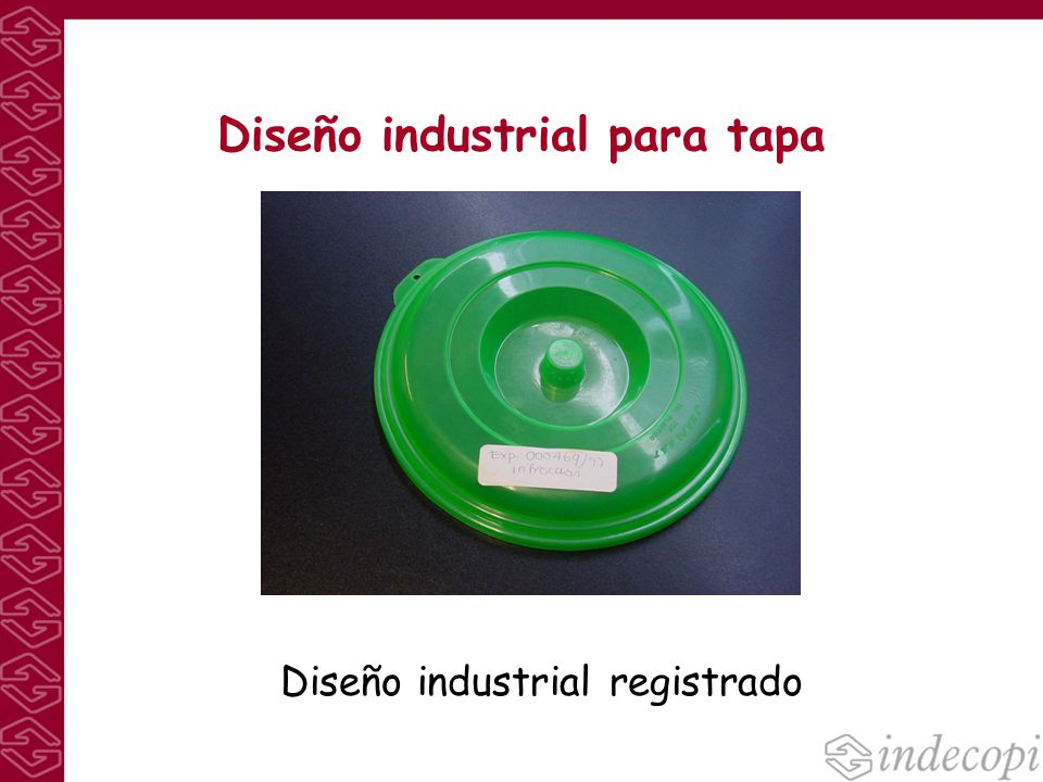 Diseño industrial para tapa