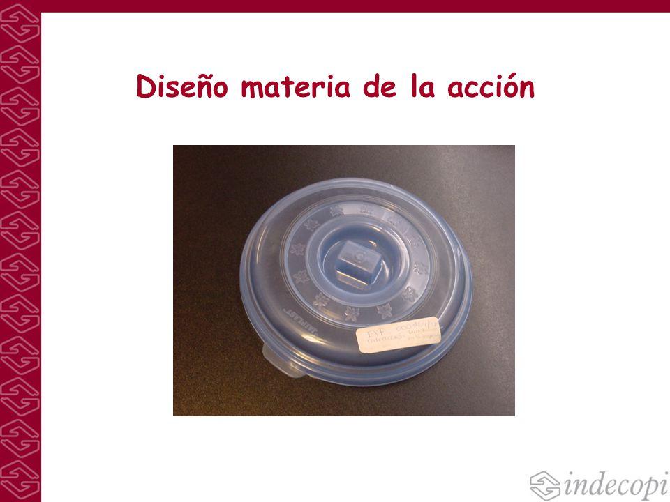 Diseño materia de la acción